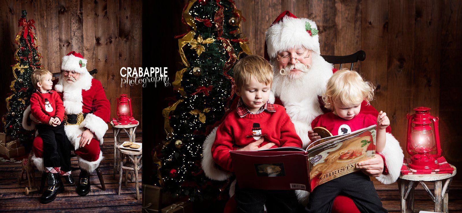 Childrens Christmas Portraits Ideas MA Crabapple Photography