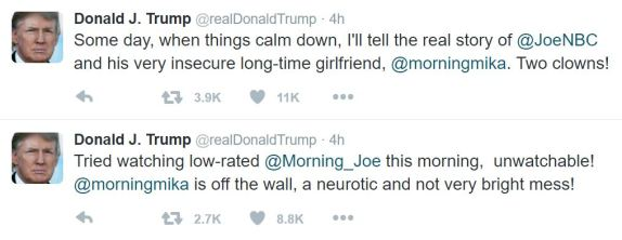 Image result for trumps morning joe tweets