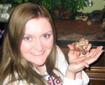 Holding hermit crab