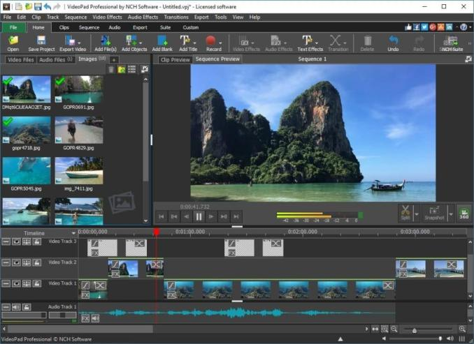 NCH VideoPad Video Editor 8.42 Beta With Crack