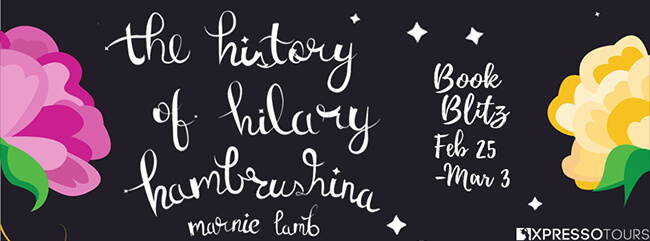 Guest Post: Marnie Lamb - The History of Hilary Hambrushina