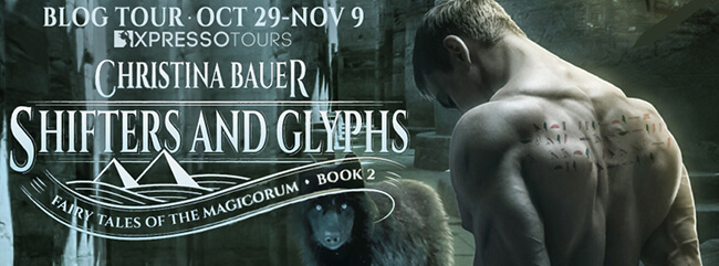 Interview with Christina Bauer - author of Shifters and Glyphs