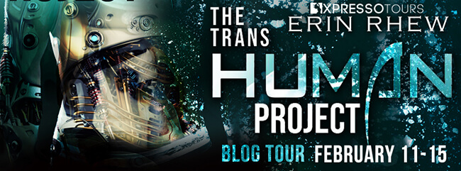 Guest Post by Erin Rhew - The Transhuman Project