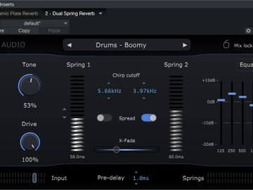 Physical Audio Dual Spring Reverb