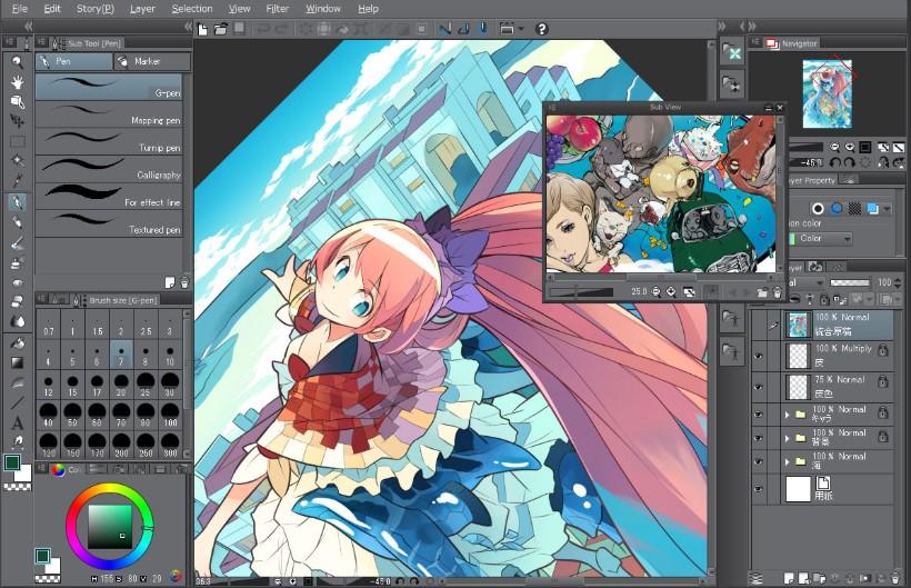 Clip Studio Paint Digital Art Programs