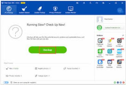 Wise Care 365 Free 5.3.2 Crack + Serial Key