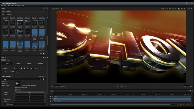 New BlueFX Titler Pro
