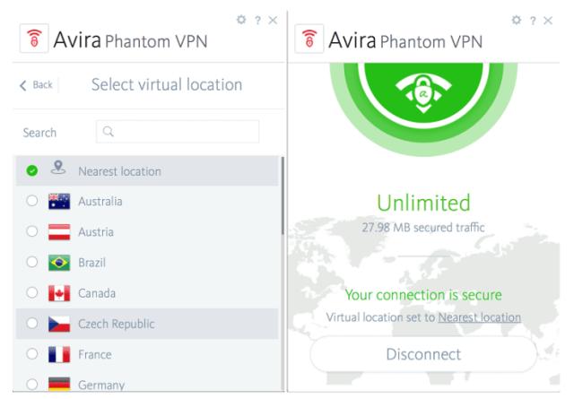 Avira Phantom VPN Pro 2.34.3.23032 Crack 2020 Free Download