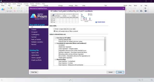 GraphPad Prism 9.0.0.121 Crack Download 2021