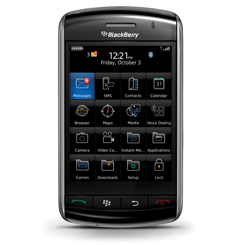 Image result for blackberry storm 2008