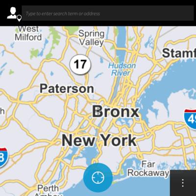 BlackBerry Classic Maps Pointer