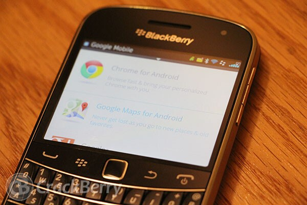 Where Did The Google Mobile Apps For Blackberry Go