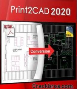Print2CAD Crack 2021 21.63 + License Key Free Download