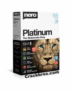 Nero Platinum 2021 23.5.1020 Crack + License Key Free Download