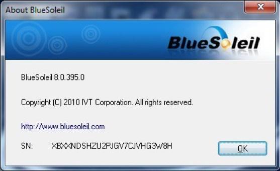 BlueSoleil Crack serial number
