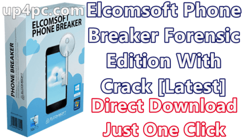 Elcomsoft Phone Breaker 9.40 Crack Free Download