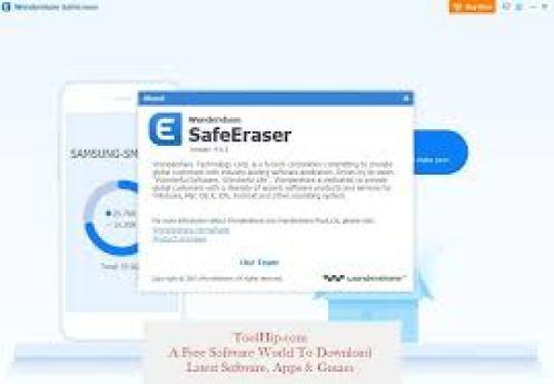 WonderShare SafeEraser serial key