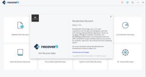 Wondershare Recoverit free download