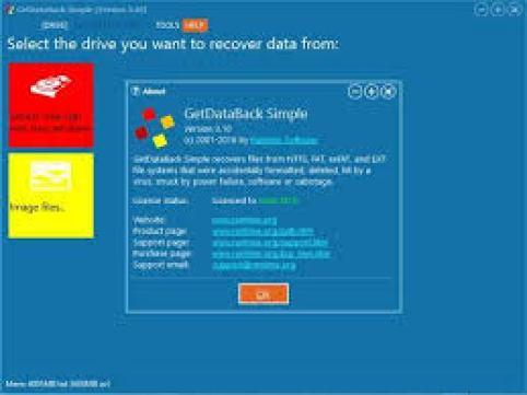 GetDataBack 5.55 Full Crack + License Key Free Download