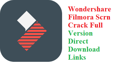 Wondershare Filmora Scrn 2.0.1 Crack Full Version