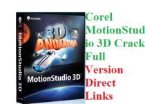 Corel MotionStudio 3D 1.0 Crack Full Version