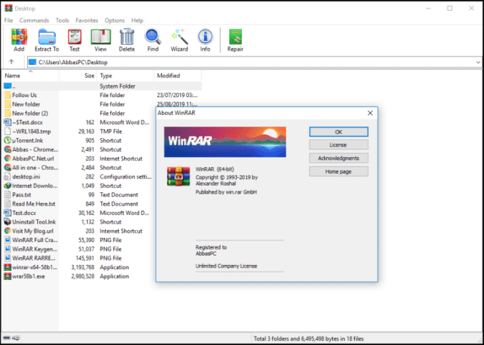 WinRAR 6 Crack Full Version With License Key