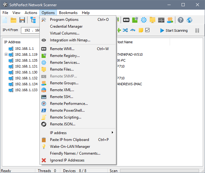 SoftPerfect Network Scanner 8.0 Crack Full Version
