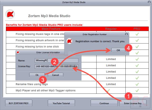 zortam-mp3-media-studio-Registration key