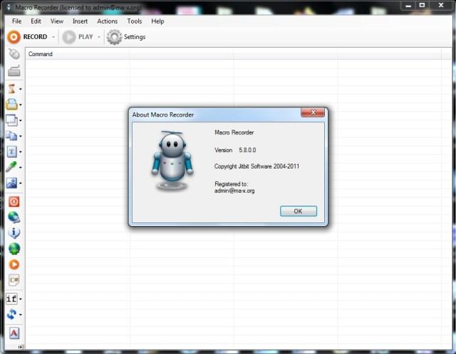 Macro Recorder License Key