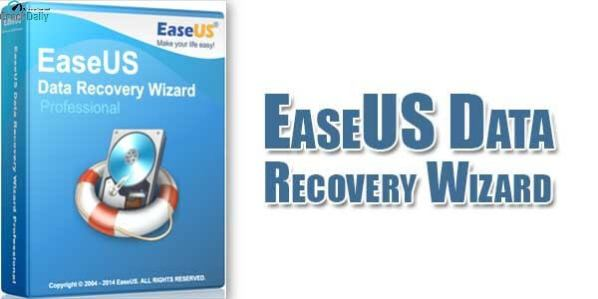 EaseUS Data Recovery Cover