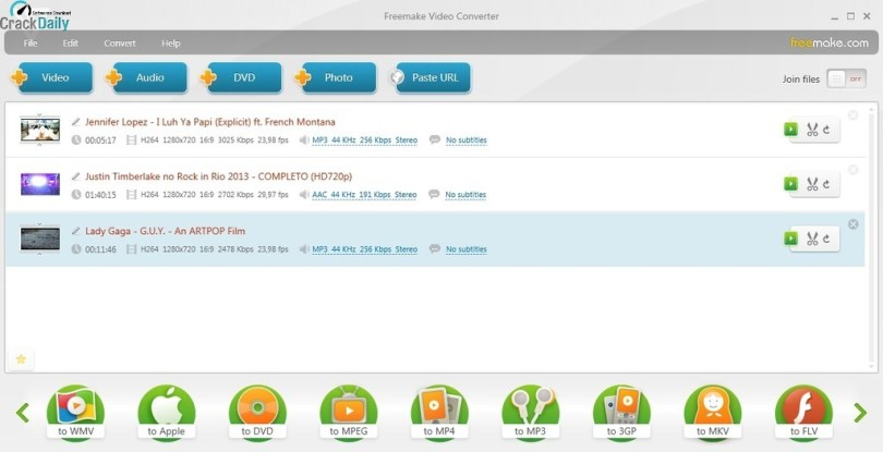 Freemake Video Converter Key Screenshot 1