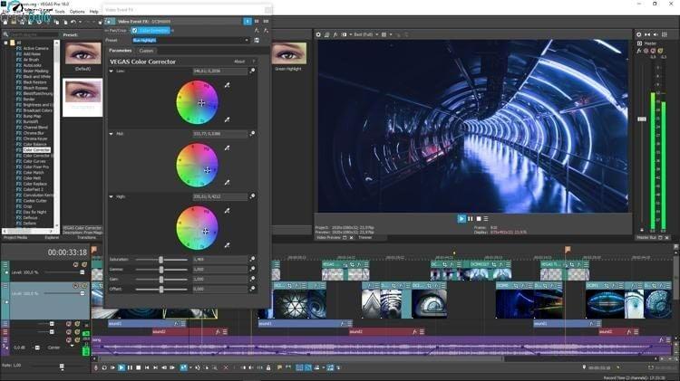 MAGIX Vegas Pro Screenshot 2