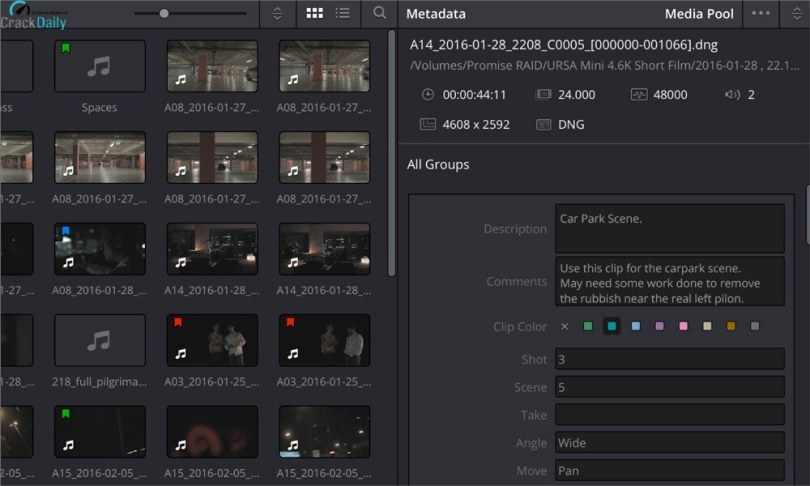 DaVinci Resolve Studio Screenshot 1
