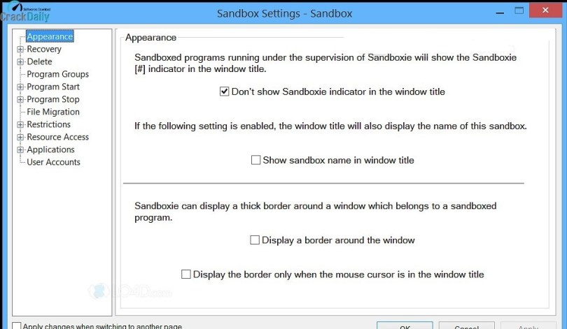 Sandboxie Screenshot 1