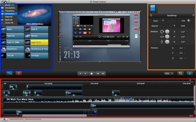 Camtasia Studio Screenshot