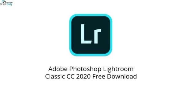 Adobe Photoshop Lightroom Classic CC Cover