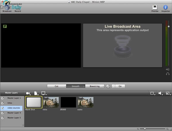 Wirecast Pro Screenshot