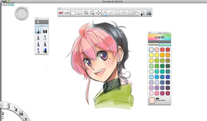 Autodesk SketchBook Pro Screenshot