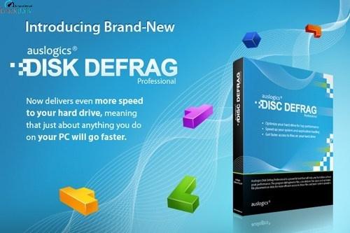 Auslogics Disk Defrag Professional Cover