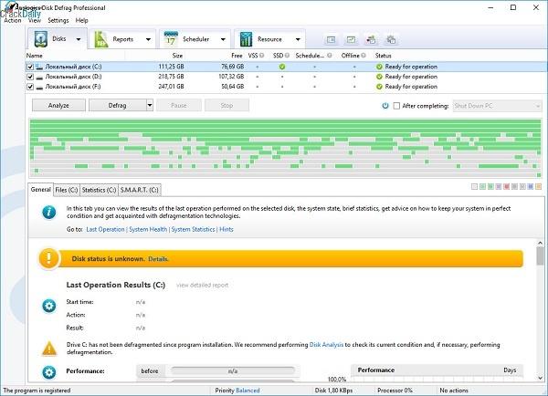 Auslogics Disk Defrag Professional Full Crack Free Download