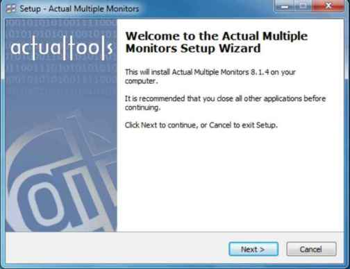 actual multiple monitors crack License Key