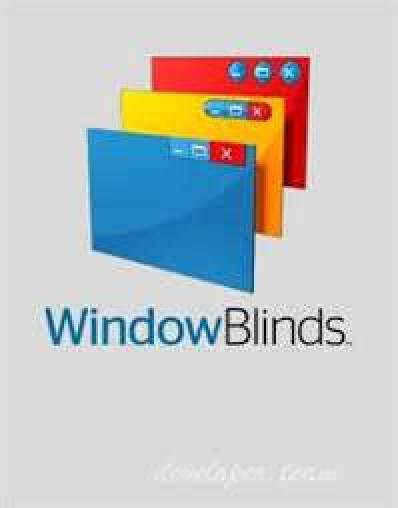 windowblinds 10.84 product keynel to the taskbar, window frames and manage buttons, WindowBlinds allows customers to customize computing device interface subject matters called skins to customize the look and experience in their desktop.