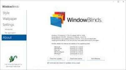 windowblinds 10.84 product key