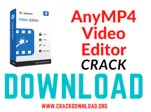 AnyMP4 Video Editor Crack