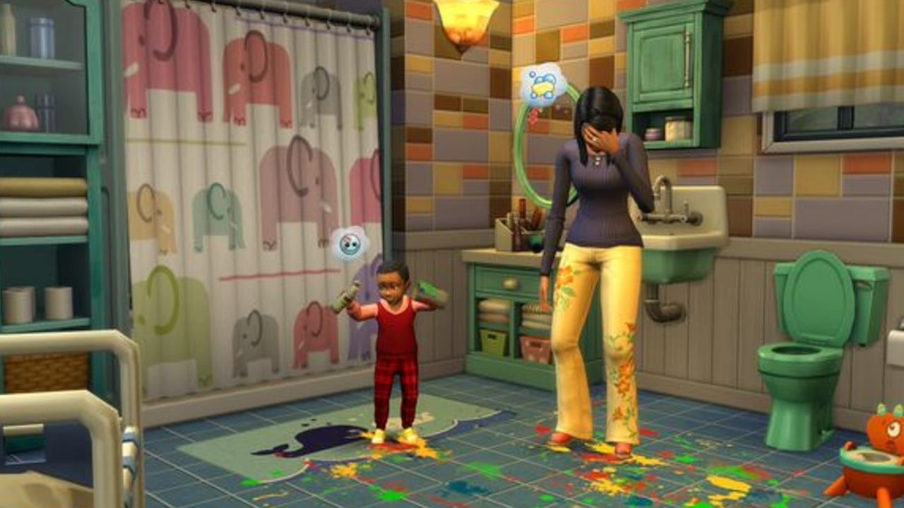 The Sims 4 Parenthood - FREE DOWNLOAD CRACKED-GAMES.ORG