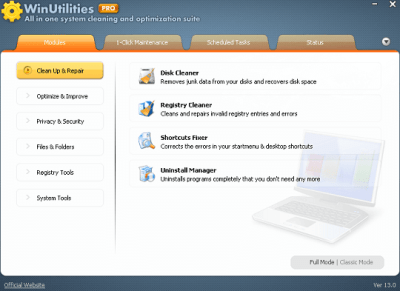 WinUtilities Professional Edition 15.74 Serial Key With Crack 2020