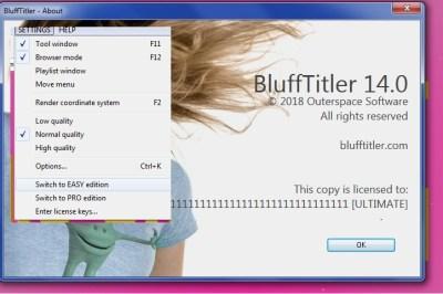 BluffTitler Ultimate 14 Crack Keygen Free Download Latest