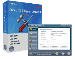 DirectX Happy Uninstall 6.92 Crack + Registration Code Free Download