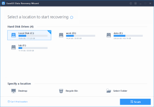 EaseUS Data Recovery Wizard 12.9.1 Crack & License Code [Download]