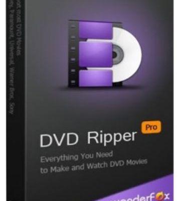 WonderFox DVD Ripper Pro 13.5 Crack And Key 2020 [Mac/Win]